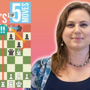 Judit Polgar's 5 Most Brilliant Chess Moves