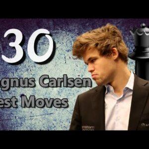 Magnus Carlsen 30 Brilliant Chess Moves to Celebrate 30th Birthday