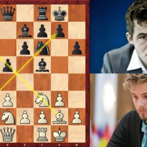 Richard Rapport beats Magnus Carlsen in the Double Fianchetto System