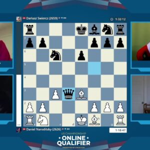 USChess Open Qualifier - Round 1 with hosts IM David Pruess and NM James Canty |||