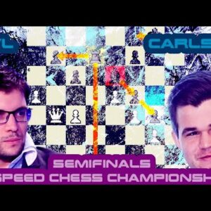 Do you believe in fortresses? | Maxime Vachier-Lagrave vs Magnus Carlsen | Speed Chess Championship