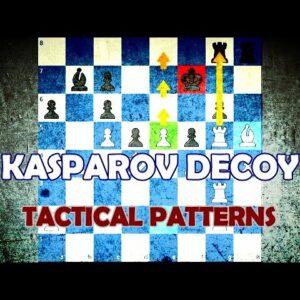 The Kasparov Decoy - Chess Tactical Patterns
