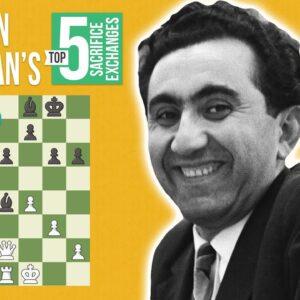 Tigran Petrosian's Top 5 Exchange Sacrifices