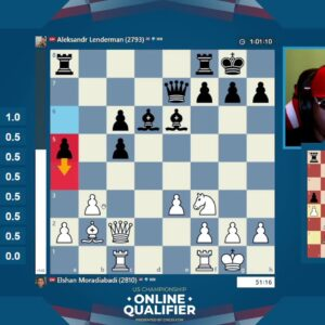 USChess Open Qualifier with hosts IM Greg Shahade and NM James Canty |||