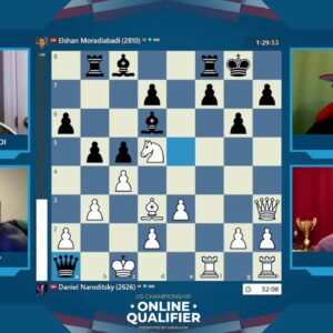 USChess Round 6 with hosts IM David Pruess and NM James Canty |||