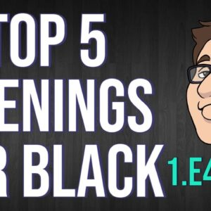 What Openings Should You Play As Black?