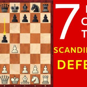 7 Best Chess Opening Traps in the Scandinavian Defense