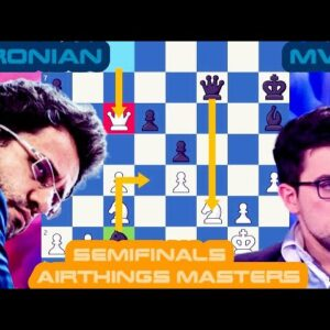 A big fight | Levon Aronian vs MVL | Airthings Masters Semifinals