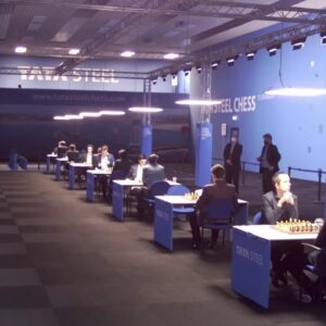 Tata Steel Chess Round 7 with hosts GM Simon Williams and FM Tex de Wit