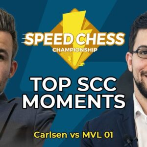 Carlsen Bounces Back After Blundering His Queen!