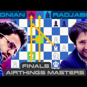 Defensive battle | Aronian vs Radjabov | Airthings Masters Finals | Day 1