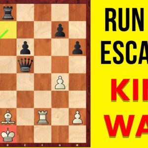 How to escape your king from a strong attack? | Defense Technique