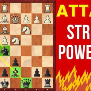 How to play aggressive chess? | Attacking chess game in Sicilian Defense