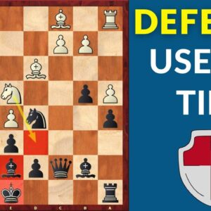 How to successfully defend a position? | Chess Tips
