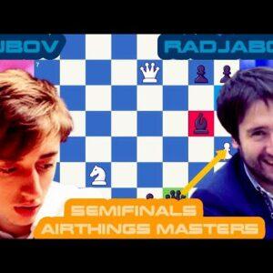 Knockut Hangovers? | Dubov vs Radjabov | Airthings Masters Semifinals