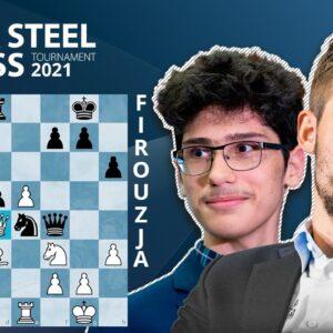 Magnus Carlsen Defeats Firouzja Brilliantly To Start 2021!