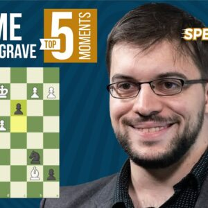 Maxime Vachier-Lagrave's Top 5 Speed Chess Moments
