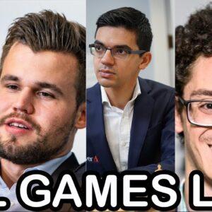 Grandmaster Games LIVE - Tata Steel Chess Tournament 2021 | lichess.org | Best Chess Games