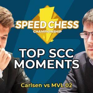 MVL's Brilliant Attack vs Magnus Carlsen