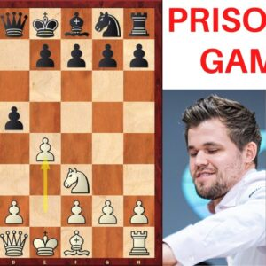 Prisoner's Gambit by Magnus Carlsen | Chess opening trick vs Anand