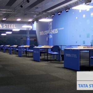 Tata Steel Round 13 with hosts GM Hess and IM Guramishvili