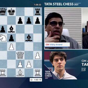 Tata Steel Round 5 with WIM Steil-Antoni and GM Naroditsky
