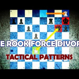 The Rook Force Divorce - Chess Tactical Patterns