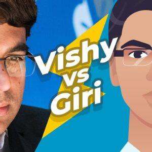 World Champion Anand Battles The Anish Giri Bot!