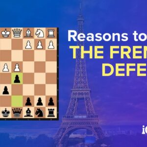 3 instructive french defense chess games