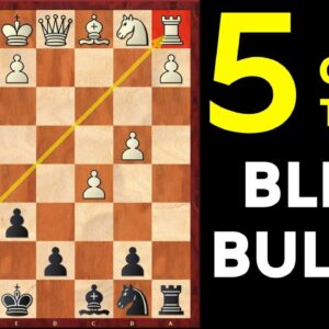 5 Best Chess Opening Traps for BLITZ and BULLET | Part-2