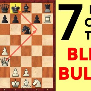 7 Best Chess Opening Traps for BLITZ and BULLET