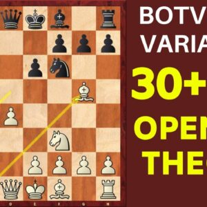 Chess Opening: Botvinnik Variation | Semi-Slav Defense