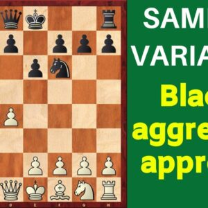 Chess Opening: Nimzo-Indian Defense Samisch Variation