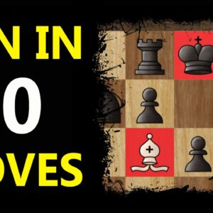 English Opening TRAP | Chess Tricks to WIN Fast #Shorts