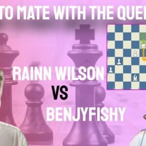 How to mate with the Queen? || Rainn Wilson vs Benjyfishy || PogChamps 3