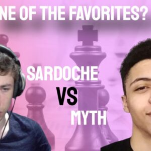 Is Sardoche one of the favorites? || Sardoche vs Myth || PogChamps 3
