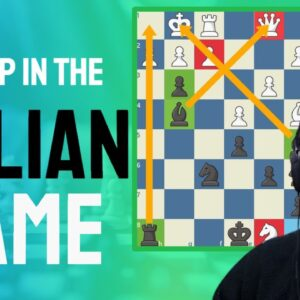 Italian Game Trap | A great trap with a Queen sacrifice