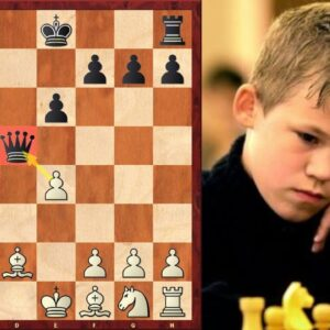 Magnus Carlsen Lost in Just 12 Moves! (Nimzo-Indian Defense Trick)