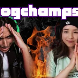 Michelle Khare and Pokimane On Fire!
