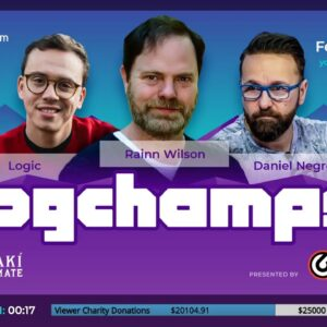 MrBeast vs MichelleKhare: Pogchamps 3 Presented By GRIP6 - Hosts Nakamura and Rensch
