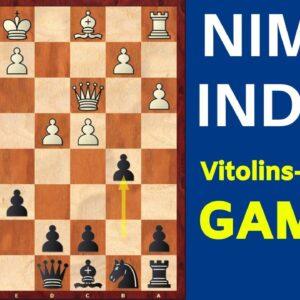 Nimzo-Indian Classical Variation: Vitolins-Adorjan Gambit