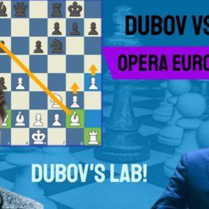Welcome to Dubov's lab! || Daniil Dubov vs Ding Liren || Opera Euro Rapid - Preliminaries