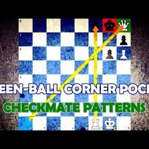 Queen-Ball Corner Pocket - Chess Checkmate Patterns