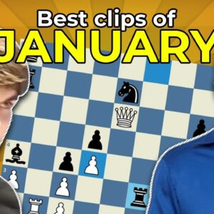 Top Chess Twitch Clips Of The Month! Jan 2021