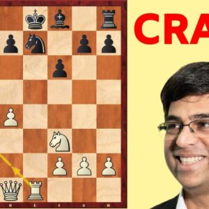 Anand's Newly Developed Opening Is EPIC! (Don't Try This At Home!)
