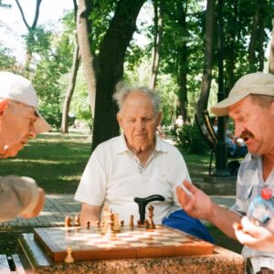 chess an older persons game