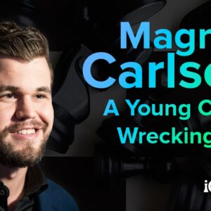 magnus carlsen a young chess wrecking ball