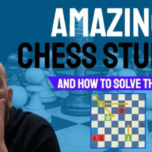 Amazing Chess Studies and how to solve them - Learn to figure out WHY the pieces are WHERE they are!