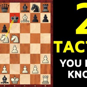 2 MOST Important Chess Tactics You Should Know | Tactics Training