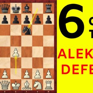 6 Best Chess Opening Traps in the Alekhine's Defense